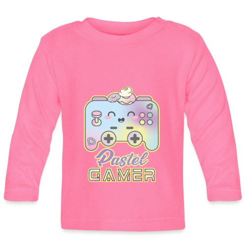 PASTEL GAMER - Camiseta manga larga bebé