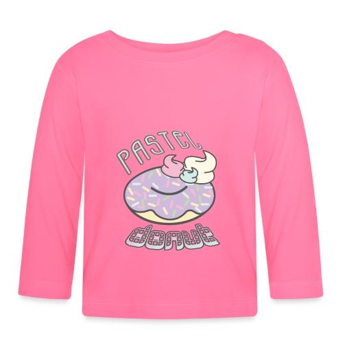 Pastel Donut - Camiseta manga larga bebé