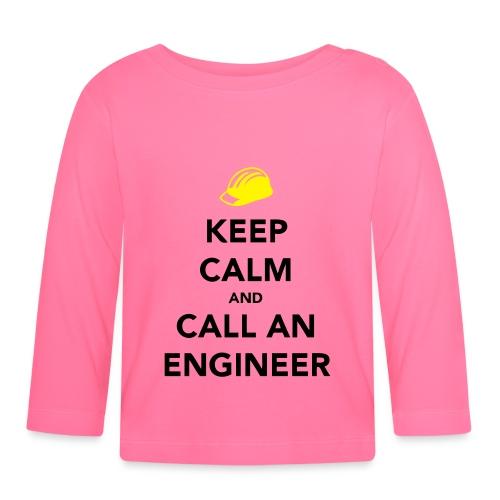 Keep Calm Engineer - Baby Long Sleeve T-Shirt