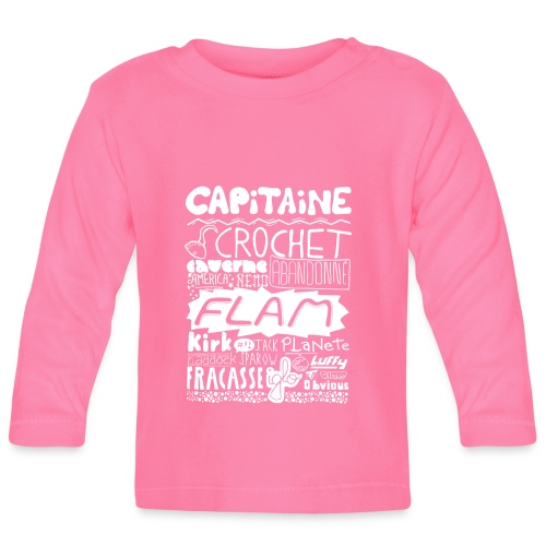 capitaine-blanc Tee shirts - T-shirt manches longues Bébé