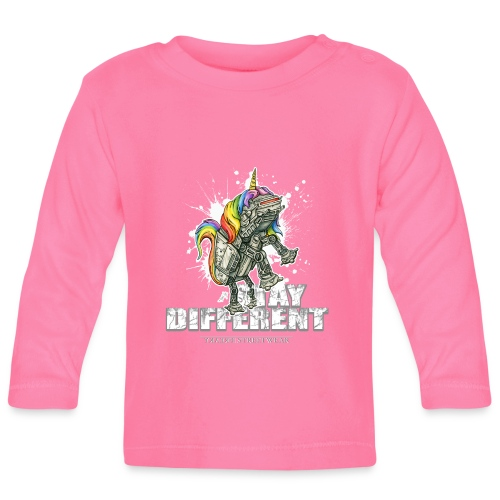Stay Different - Imperial Unicorn - Baby Langarmshirt