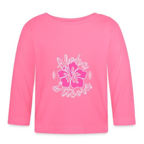 Aloha Bitcoin! - Camiseta manga larga bebé