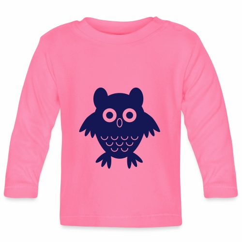 My friend the owl - Baby Long Sleeve T-Shirt