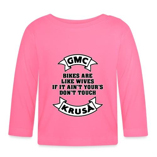 GMC cykler er som kvinder - Langærmet babyshirt