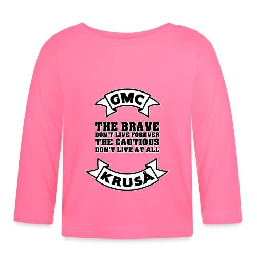 GMC THE BRAVE - Langærmet babyshirt