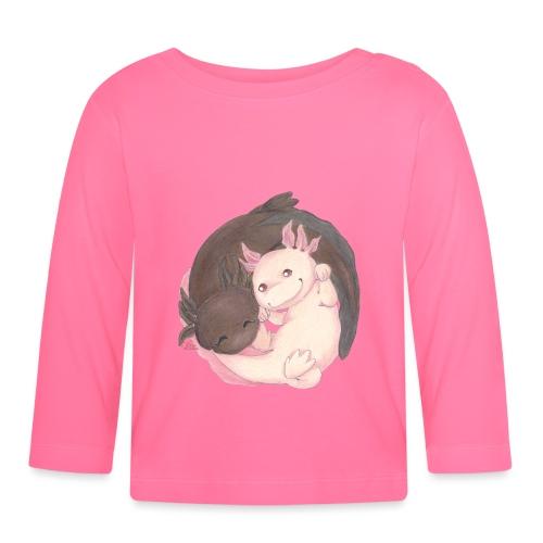 Yin Yang aus Axolotls - Baby Langarmshirt