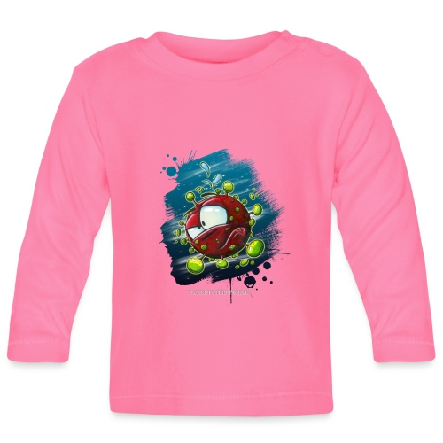 Take a look on the inside - Covid - Baby Langarmshirt