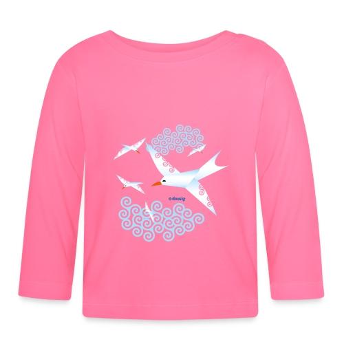 Mouettes dousig - T-shirt manches longues Bébé