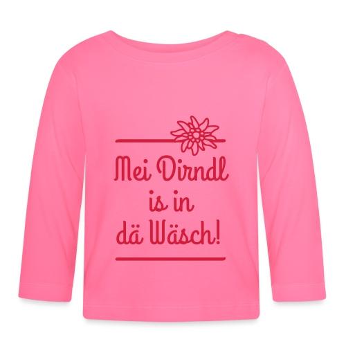 Mei Dirndl is in dä Wäsch! - Baby Langarmshirt
