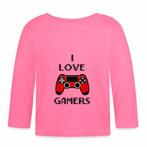 Love gamer - Maglietta a manica lunga per bambini