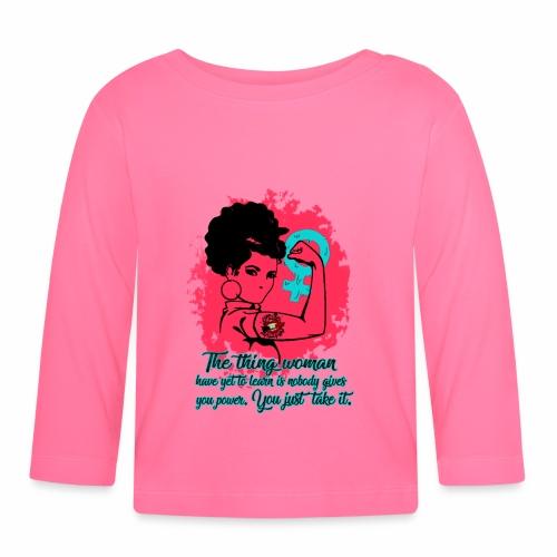 Girl Power - Maglietta a manica lunga per bambini