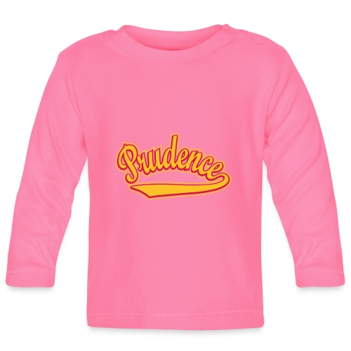Prudence - T-shirt personalised with your name - Baby Long Sleeve T-Shirt
