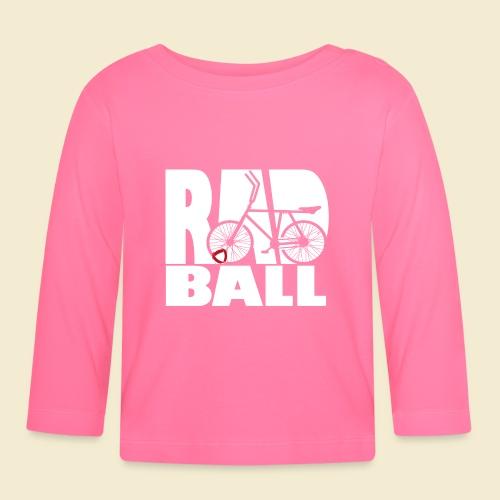 Radball | Typo - Baby Langarmshirt
