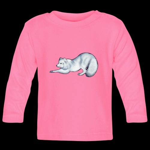 Arctic Fox - Baby Long Sleeve T-Shirt