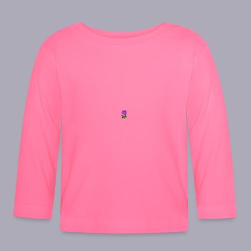 Landryn Design - Pink rose - Baby Long Sleeve T-Shirt