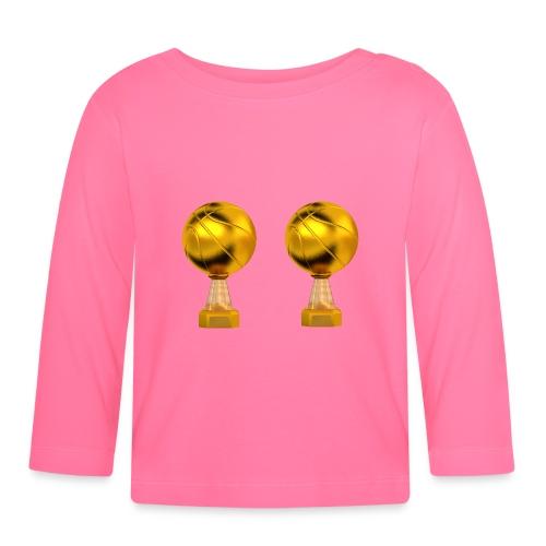 Basketball Golden Trophy - T-shirt manches longues Bébé