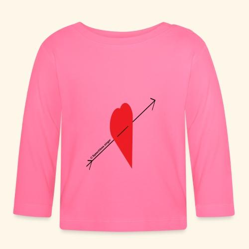 Pisto sydämeen - Vauvan pitkähihainen paita
