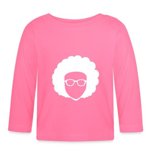 Afro Nerd - nerdy - Baby Long Sleeve T-Shirt