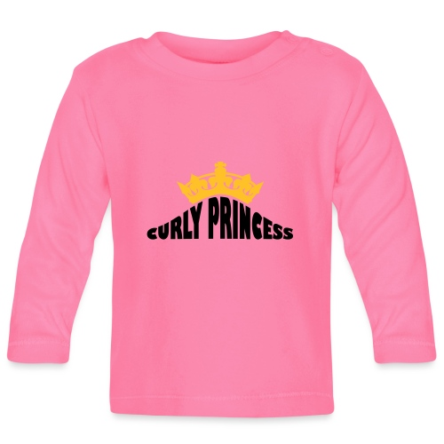 Curly Princess - Baby Long Sleeve T-Shirt