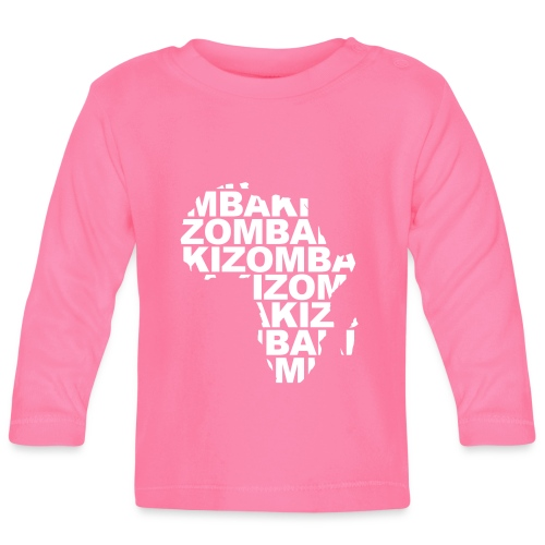 Kizomba mapa África - Camiseta manga larga bebé