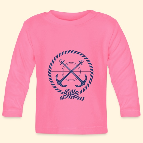 Ancoras - Baby Long Sleeve T-Shirt