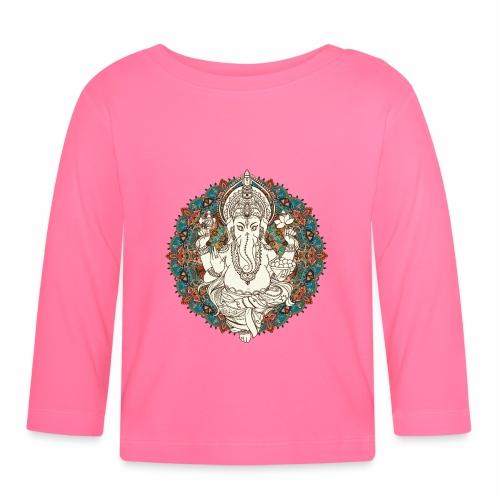 Ganesha - Langærmet babyshirt