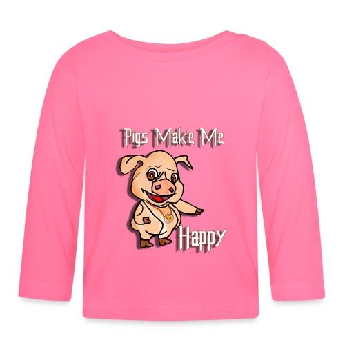 Oh my God pigs maakt mij blij - T-shirt