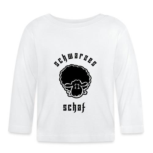 Schwarzes Schaf (Black Sheep) - Baby Langarmshirt