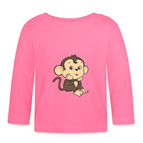 Monkey - Långärmad T-shirt baby