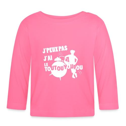 JPEUXPAS BLANC - T-shirt manches longues Bébé