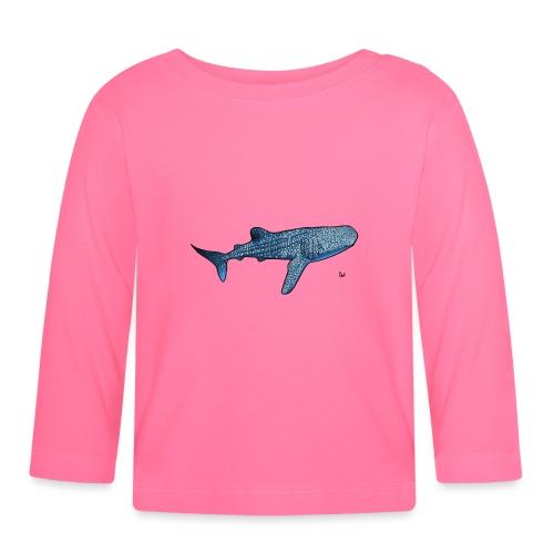 Requin baleine - T-shirt manches longues Bébé