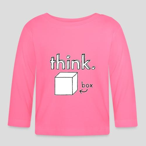 Think Outside The Box Illustration - Baby Long Sleeve T-Shirt
