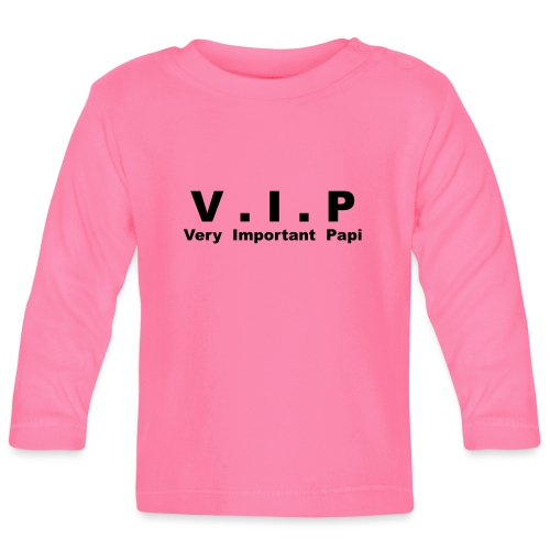 VIP - Very Important Papi - T-shirt manches longues Bébé
