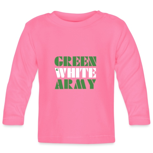 GREEN & WHITE ARMY - Baby Long Sleeve T-Shirt