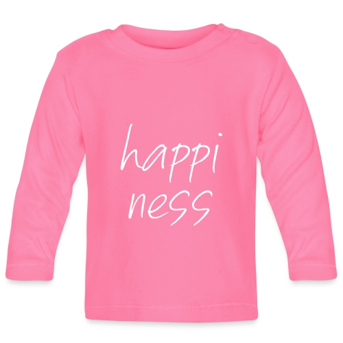 HAPPINESS - Baby Langarmshirt
