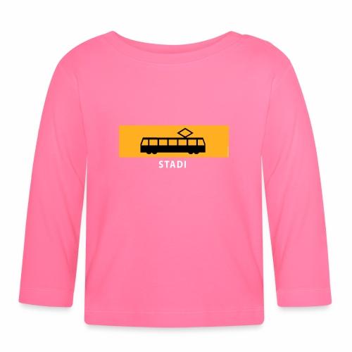 STADIN RATIKKA PYSÄKKI KYLTTI T-paidat ja lahjat - Vauvan pitkähihainen paita