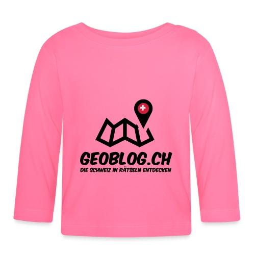 Logo+Schriftzug-hoch - Baby Langarmshirt