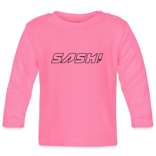 SASH! Empty Logo - Baby Long Sleeve T-Shirt