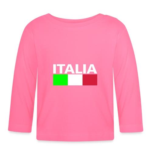 Italia Italy flag - Baby Long Sleeve T-Shirt
