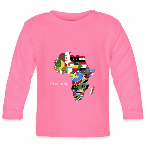 African unity - T-shirt manches longues Bébé