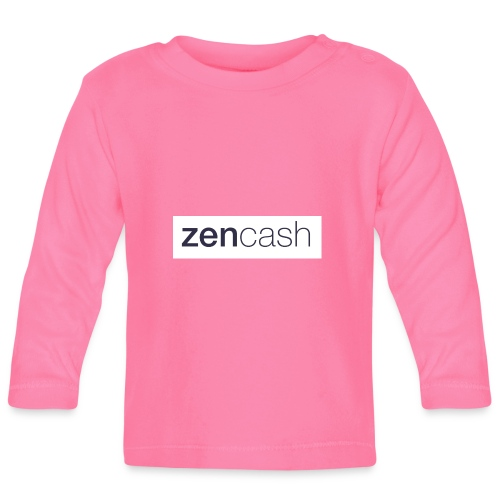 ZenCash CMYK_Horiz - Full - Baby Long Sleeve T-Shirt