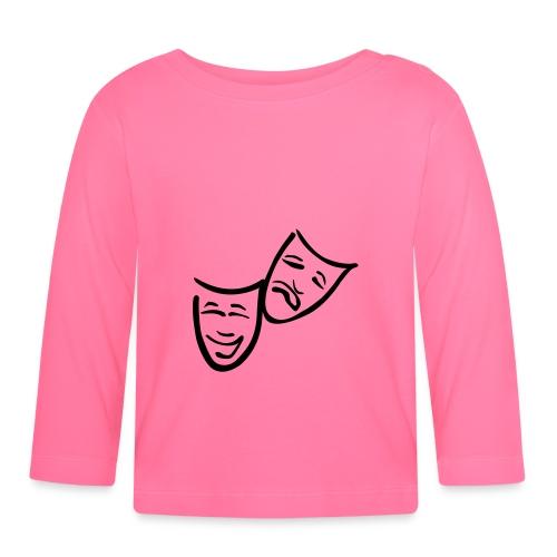 Theatermasken - Baby Langarmshirt
