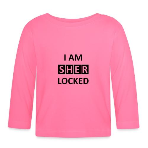 I AM SHERLOCKED - Baby Langarmshirt