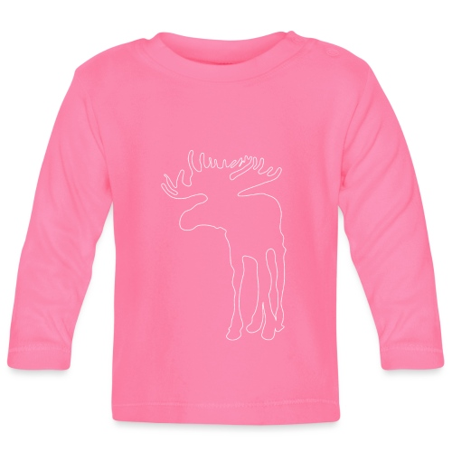 Eland in het donker - T-shirt manches longues Bébé
