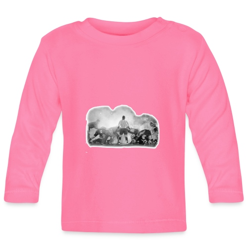 Rugby Scrum - Baby Long Sleeve T-Shirt