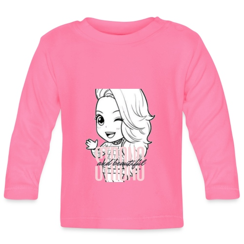 Miss Lopez strong and beautiful - Långärmad T-shirt baby