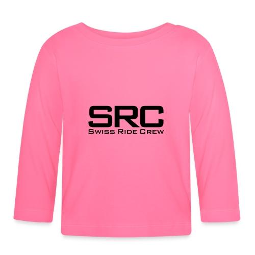 SRC T-Shirt Neongrün - Baby Langarmshirt