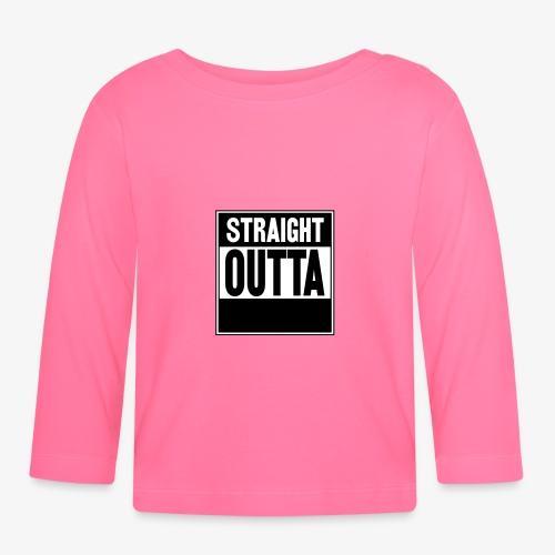 Straight Outta - Långärmad T-shirt baby
