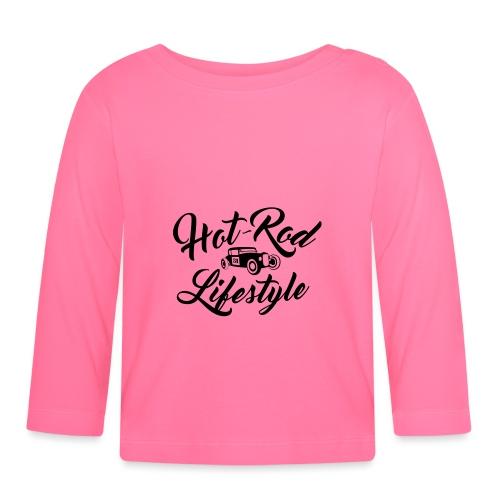 Hot-Rod lifestyle (front&back) - T-shirt manches longues Bébé