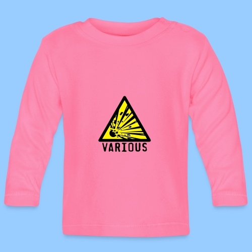 VariousExplosions Triangle (2 colour) - Baby Long Sleeve T-Shirt